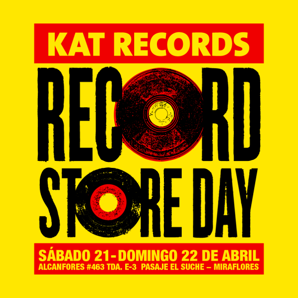 RECORD STORE DAY 2018 EN KAT RECORDS
